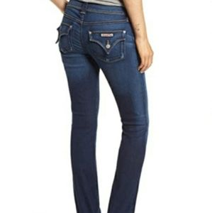 Hudson Beth Midrise Baby Boot Flap Pocket Jeans